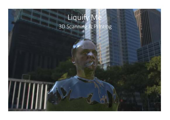 LiquifyMe - 3D Structure Scanning & Printing